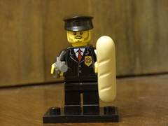 Brick Yourself Figure - French Cop