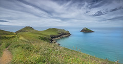 The Rumps and Moule Island (yadrad) Tags: therumps cornwall coast mouseisland seascape southwest westcountry