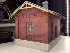 20160826_213457_ (kudrdima) Tags: 125       oldtime  guardhouse railway railroad russia model scaleg spuriim gaugeg gauge1