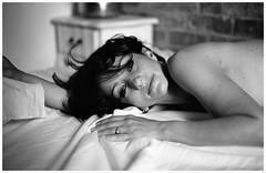 DAYDREAM (crash76_VT) Tags: vincenzotravino ninamoonwalk love portrait face eyes beauty blackandwhite black white model pose pure soul sunlight light hand hair artisticnude nudeart elegant room wall daydream crash76 bestportraitsaoi