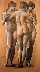 Edward Burne-Jones 'The three Graces' (ArtTrinArt!!) Tags: sir edward burnejones 18331898