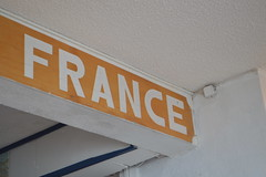 France sign at Marina Royale in Marigot Collectivité de Saint-Martin France French side of the island of Saint Martin FWI French West Indies (RYANISLAND) Tags: france french saintmartin stmartin saint st collectivity martin collectivityofsaintmartin collectivité collectivitédesaintmartin marigot frenchcaribbean frenchwestindies thecaribbean caribbean caribbeanisland caribbeanislands island islands leewardislands leewardisland westindies indies lesserantilles antilles caribbees