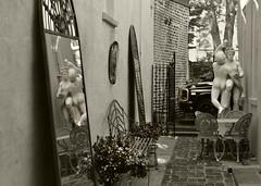 Charleston (Don Iannone) Tags: charlestonsouthcarolina statues sepiatone