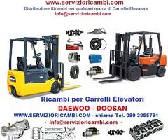 Ricambi-Carrello-DAEWOO-DOOSAN (servizioricambi) Tags: ricambi muletti doosan daewoo carrelli transpallet