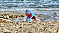 Weymouth Beach (nickcross2906) Tags: weymouthdorset sand sandcastle sea sun content child bucket spade
