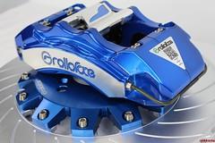 Rolloface SS Series BBK Brakes with Blue Anodized Finish (vividracing) Tags: anodized bbk bigbrakekit blue calipers finish powdercoat rolloface rotors series ss wholesale