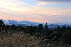 St-VICTOR_LA_RIVIERE (ManuDomp'S) Tags: paisible romantic bucolique romantique clouds nuages 3d emmanueldomps auvergne sunset coucherdesoleil church eglise paysage france landscape