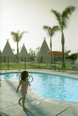 Porst SP Wigwam Motel 3 () Tags: vintage retro classic film camera losangeles california riverside history west coast architcture porst photo quelle 35mm m42 slr germany chinon cosina japan tiltshift color route66