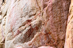 Pintura rupestre (Johnny Photofucker) Tags: cabeadeboi pintura pinturarupestre arte art pedra rocha rock stone pietra desenho disegno painting cavepainting minasgerais