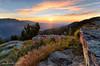 Colle di Sampeyre Sunrise (silvia brisi) Tags: alba sunrise sampeyre alpi alps varaita flowers fiori montagna mountain nikon d7000 colle passo piemonte cuneo summer august estate agosto