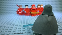 Unknow Jedi vs New Sith Order - lego3130starwars - moc - custom (lego3130starwars) Tags: uknow jedi vs new sith order lego3130starwars moc custom star wars old republic versus epic battle lego grey prospective red clothes minifigures clone war