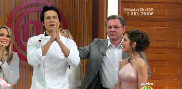 """Leonardo é o grande vencedor da terceira edição do """"MasterChef"""" Brasil"""