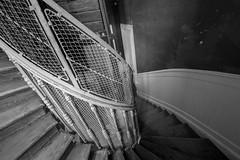 old spiral (Blende1.8) Tags: spiral spirale wendeltreppe old classic decay lisbon lisboa lissabon interior indoor sigma 1224mm sigma1224mmhsmii