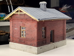 20160826_212113_ (kudrdima) Tags: 125       oldtime  guardhouse railway railroad russia model scaleg spuriim gaugeg gauge1