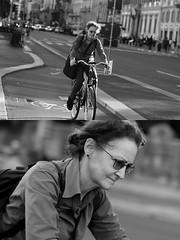 [La Mia Citt][Pedala] (Urca) Tags: milano italia 2016 bicicletta pedalare ciclista ritrattostradale portrait dittico nikondigitale mir bike bicycle biancoenero blackandwhite bn bw bnbw 881132