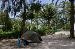 Campsite with sea view in Tanger