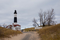 Big Sable Point Lighthouse (soumit) Tags: bigsablepoint 2015 beach lighthouse ludington michigan november thanksgiving freesoil unitedstates