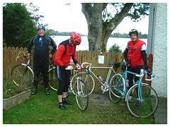 Cake and Coffee Stop. (Paris-Roubaix) Tags: flying scot group bicycle run doune braes greenock lake menteith arnprior david rattray co ltd murray street glasgow scottish racing bicycles