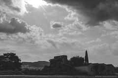 (Nafsika Chatzitheodorou) Tags: ioannina greece ιωαννινα ελλαδα φετιχιε τζαμι fetichie tzami bnw blackandwhite sky clouds