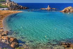 Cala Pregonda, Menorca. (rasape1) Tags: menorca cala pregonda calapregonda sonya6000 sony hdr travel vacaciones playa color