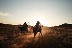 Persian Rush (BricePortolano) Tags: iran alighoorchian annaminkkinen arabian archery finnish horsebackarchery horsebackriding horses persia persian portrait riding sunset kordan alborz irn