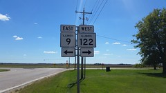 009-122s (paulthemapguy) Tags: 122 9 illinois highway route sign