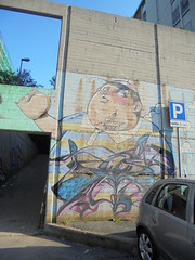 133 (en-ri) Tags: alice grasso fat boy azzurro old vecchio genova zena wall muro graffiti writing