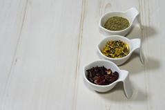 Herb tea (Emi_champagne) Tags: tea relax health flower red yellow three herb herbal