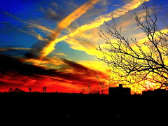 New York Sunset (dimaruss34) Tags: newyork brooklyn dmitriyfomenko image summer sky clouds