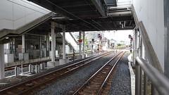 Here comes the Haruka (seikinsou) Tags: japan osaka autumn hineno jr railway train haruka station platform sound video audio