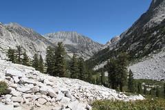 Hiking through LeConte Canyon on the JMT (jlcummins - Washington State) Tags: johnmuirwilderness john muir trail jmt backpack hike wilderness canonpowershotsx530hs california lecontecanyon
