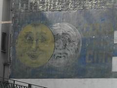 Cirage -Dtail- (Aout 2012) (Ostrevents) Tags: street paris wall paint rue mur publicit wallpaint paintwall advertissement