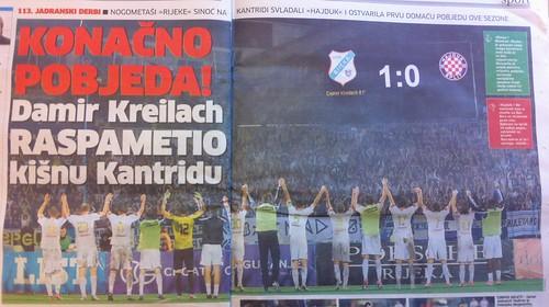 Kreilach raspametio Kantridu (Novi List, 02.09.2012)