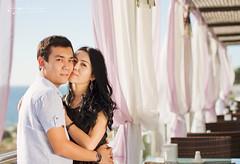 (Ole Lukoie) Tags: portrait love nature kiss kissing couple faces smiles lovers lovestory inlove     aktau