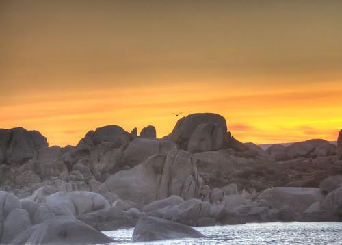 Sunrise in Lavezzi