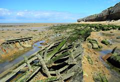 Hunstanton Coast, Cliffs at Hunstanton Beach, Norfolk, England, United Kingdom (Marcel Musil) Tags: england beach coast united norfolk kingdom cliffs hunstanton englandunitedkingdom