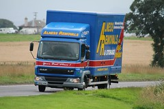 Alness Removals DAF LF GN55 KNG (Kilmachalmag) Tags: trucks removals a9 lorries rossshire tomich hgvtruckimages