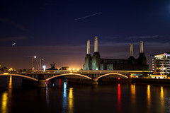 Derelict Power (Russ Francis Photography) Tags: uk london thames night buildings river disused battersea derelict powerstation