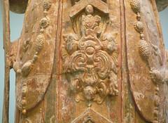 Bodhisattva, probably Avalokiteshvara (Guanyin), with detail of gown