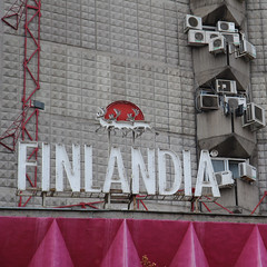 Finlandia (Been Around) Tags: facade hotel europa europe eu september advertisement bulgaria vodka werbung burgas blacksea 2012 fassade finlandia aircondition klimaanlage chernomore  hotelbulgaria schwarzesmeer   hotelbulgariaburgas aleksandrovkastreetburgas