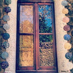Gaudi's window (Roby Marcis) Tags: art window spain gaudi bara barcellona parkguell spagna
