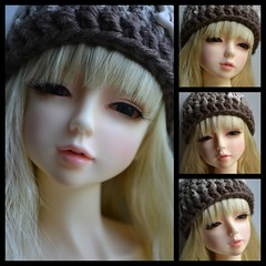 Hyuna (Ddoll Airi) for Fall (Katester Phatater) Tags: blonde bangs abjd airi msd barett crochethat dreamingdoll littleelva ddollairi minidolfieddollshop