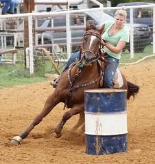 Kellyville Barrel Race September (Garagewerks) Tags: horse oklahoma sport race cowboy all ride action outdoor barrels sony barrel racing rodeo poles tulsa cowgirl 70300mm kellyville tamron saddle countryliving barrelracing barrelrace f456 a65 roundupclub slta65v kellyvilleroundupclub