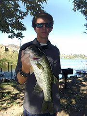 Two Reports 1 (Caveman Catching) Tags: lake fish outdoors big fishing bass westlake tackle lure largemouth freshwater caveman gambler sherwood markavery topwater yozuri gamblerlures