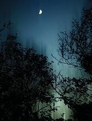 Eve of Fall Equinox (Javcon117*) Tags: blue autumn moon green fall pennsylvania eerie pa ethereal mysterious haunting dreamy dreamlike equinox bedfordcounty lakegordon javcon117 frostphotos