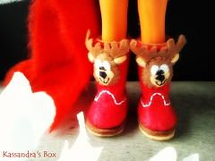 Christmas Booties!! <3