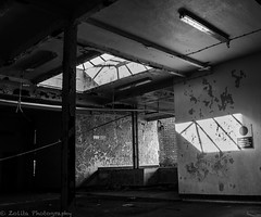 All the light (Z0L1TA) Tags: blackandwhite abandoned northernireland derelict allrightsreserved urbex bluefilter omagh canon400d  zolitamykytyn zolitaphotography httpzolitaphotographywixcomzolita olita