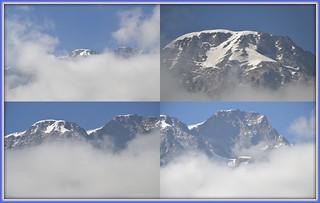 Monte Rosa...tra le nubi