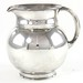 Lot 2024.  Art Deco Sterling Silver Water Pitcher
