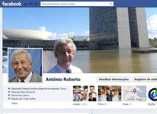 Facebook Antônio Roberto